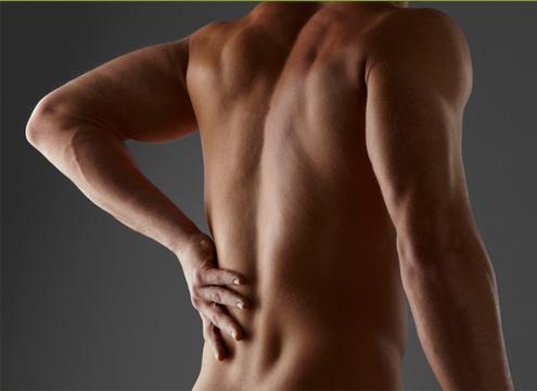 Si puede estar enferma la espalda por la escoliosis